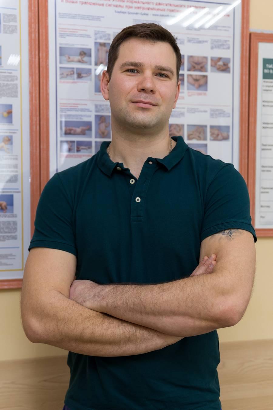 КРАВЦОВ ЛЕОНИД ЛЕОНИДОВИЧ Руководитель Центра, реабилитолог